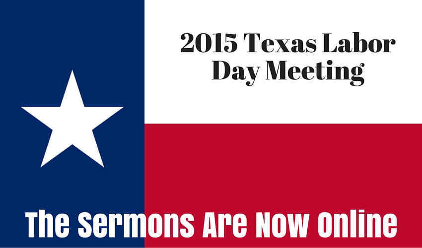 2015 Texas Labor Day Meeting